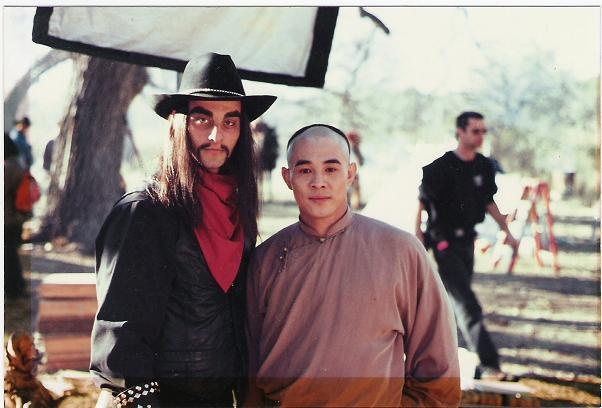 Master Joe Sayah and Jet Li